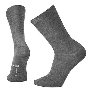 Women's Texture Crew Socks-Smartwool-Medium Gray-S-Uncle Dan's, Rock/Creek, and Gearhead Outfitters