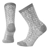 Women's Traditional Snowflake Socks-Smartwool-Light Gray Heather-M-Uncle Dan's, Rock/Creek, and Gearhead Outfitters