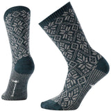 Women's Traditional Snowflake Socks-Smartwool-Lochness Heather-M-Uncle Dan's, Rock/Creek, and Gearhead Outfitters