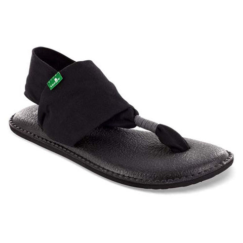 Women's Yoga Sling 2 Sandal-Sanuk-Black-10-Uncle Dan's, Rock/Creek, and Gearhead Outfitters