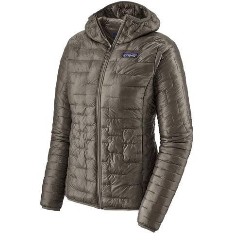 Women's Micro Puff Hoody-Patagonia-Feather Grey-L-Uncle Dan's, Rock/Creek, and Gearhead Outfitters