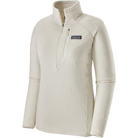 Women's R1 Pullover-Patagonia-Birch White-L-Uncle Dan's, Rock/Creek, and Gearhead Outfitters