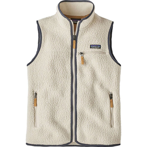 Women's Retro Pile Vest-Patagonia-Beech Brown-XS-Uncle Dan's, Rock/Creek, and Gearhead Outfitters