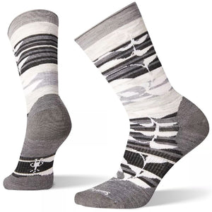 Women's Non Binding Pressure Free Palm Crew Socks-Smartwool-Medium Gray-M-Uncle Dan's, Rock/Creek, and Gearhead Outfitters