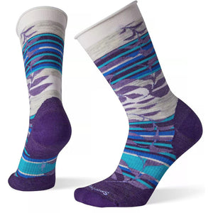 Women's Non Binding Pressure Free Palm Crew Socks-Smartwool-Mountain Purple-S-Uncle Dan's, Rock/Creek, and Gearhead Outfitters