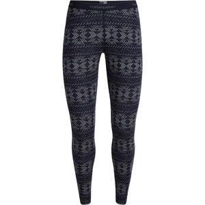 Women's 250 Vertex Leggings Crystalline-Icebreaker-Midnight Navy-XS-Uncle Dan's, Rock/Creek, and Gearhead Outfitters
