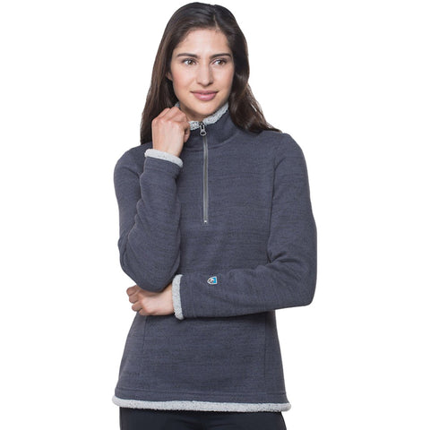 Women's Alska 1/4 Zip-KUHL-Pavement-XS-Uncle Dan's, Rock/Creek, and Gearhead Outfitters