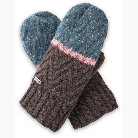 Women's Estes Mitten-Pistil-Brown-Uncle Dan's, Rock/Creek, and Gearhead Outfitters