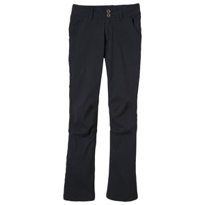 Women's Halle Pant - Short Inseam-prAna-Black-0-Uncle Dan's, Rock/Creek, and Gearhead Outfitters