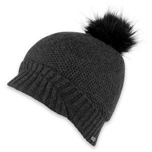 Women's Maddy Knit Brim Beanie-Pistil-Black-Uncle Dan's, Rock/Creek, and Gearhead Outfitters