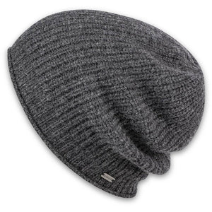Women's Margot Slouchy Beanie-Pistil-Charcoal-Uncle Dan's, Rock/Creek, and Gearhead Outfitters