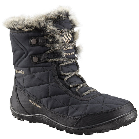 Women's Minx Shorty III Boot-Columbia-Black Pebble-10-Uncle Dan's, Rock/Creek, and Gearhead Outfitters
