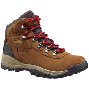 Women's Newton Ridge Plus Waterproof Amped Hiking Boot - Wide-Columbia-Elk Mountain Red-10 W-Uncle Dan's, Rock/Creek, and Gearhead Outfitters
