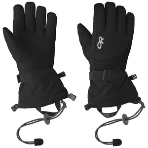 Women's Revolution Gloves-Outdoor Research-Black-S-Uncle Dan's, Rock/Creek, and Gearhead Outfitters