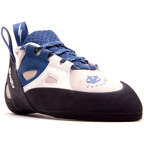 Women's Skyhawk Climbing Shoe-Evolv-White/Blue-10.5-Uncle Dan's, Rock/Creek, and Gearhead Outfitters