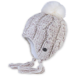 Women's Snowbound Earflap Hat-Pistil-Ivory-Uncle Dan's, Rock/Creek, and Gearhead Outfitters