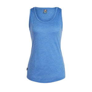 Women's Sphere Tank-Icebreaker-Cove Heather-S-Uncle Dan's, Rock/Creek, and Gearhead Outfitters