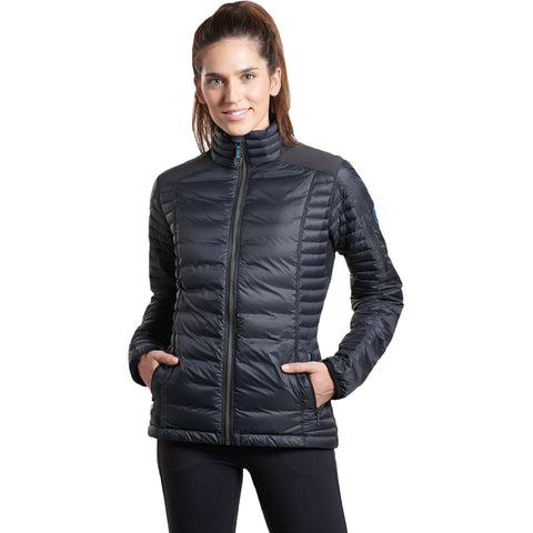 Women's Spyfire Jacket-KUHL-Carbon-XS-Uncle Dan's, Rock/Creek, and Gearhead Outfitters
