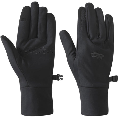 Women's Vigor Lightweight Sensor Glove-Outdoor Research-Black-S-Uncle Dan's, Rock/Creek, and Gearhead Outfitters