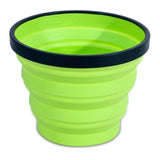X Mug-Sea to Summit-Lime Green-Uncle Dan's, Rock/Creek, and Gearhead Outfitters