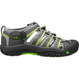 Big Kids Newport H2 Sandal-KEEN-Racer Gray-4-Uncle Dan's, Rock/Creek, and Gearhead Outfitters