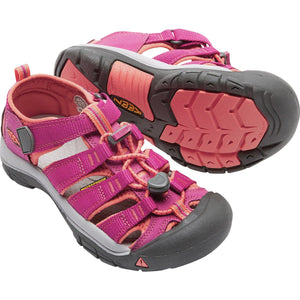 Big Kids Newport H2 Sandal-KEEN-Very Berry Fusion Coral-1-Uncle Dan's, Rock/Creek, and Gearhead Outfitters