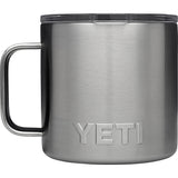 Rambler 14 oz Mug with Standard Lid-Yeti-Stainless-Uncle Dan's, Rock/Creek, and Gearhead Outfitters