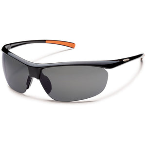 Zephyr Sunglasses (Medium Fit)-Suncloud-Black/Polarized Gray-Uncle Dan's, Rock/Creek, and Gearhead Outfitters