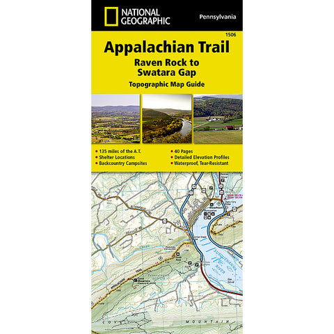 Appalachian Trail Map, Raven Rock to Swatara Gap [Pennsylvania]-National Geographic Maps-Uncle Dan's, Rock/Creek, and Gearhead Outfitters
