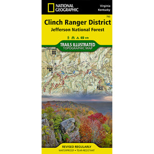 Clinch Ranger District [Jefferson National Forest] Map