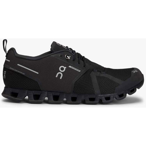 Men's Cloud Waterproof-On Running-Black | Lunar-7.5-Uncle Dan's, Rock/Creek, and Gearhead Outfitters