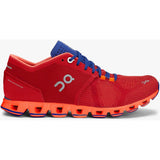 Women's Cloud X-On Running-Red | Flash-9.5-Uncle Dan's, Rock/Creek, and Gearhead Outfitters
