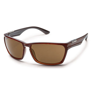 Cutout Sunglasses (Medium Fit)-Suncloud-Burnished Brown/Polarized Brown-Uncle Dan's, Rock/Creek, and Gearhead Outfitters