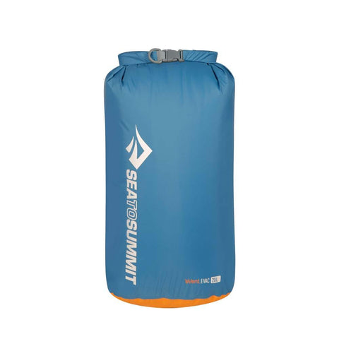 eVac Dry Sack 20L-Sea to Summit-Pacific Blue-Uncle Dan's, Rock/Creek, and Gearhead Outfitters