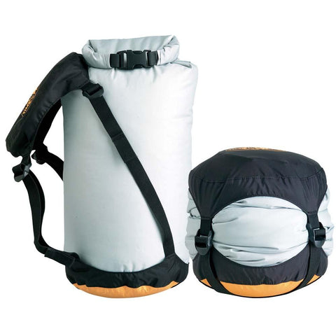 eVent Compression Dry Sack 6L-Sea to Summit-Grey-Uncle Dan's, Rock/Creek, and Gearhead Outfitters