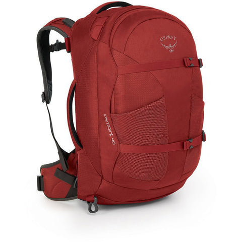 Osprey Farpoint Travel Pack Carry-On 40_Jasper Red