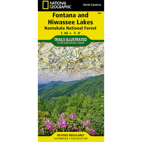 Fontana and Hiwassee Lakes [Nantahala National Forest] Map-National Geographic Maps-Uncle Dan's, Rock/Creek, and Gearhead Outfitters