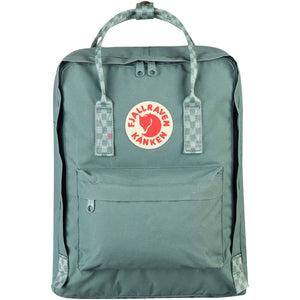 Fjallraven-Kanken-F23510_Frost Green-Chess Pattern
