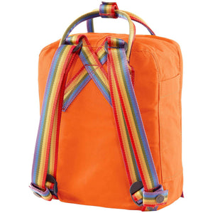 Fjallraven-kanken-rainbow-mini-f23621_Burnt Orange-Rainbow Pattern