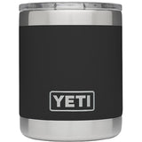 Rambler 10 oz Lowball with Standard Lid-Yeti-Black-Uncle Dan's, Rock/Creek, and Gearhead Outfitters