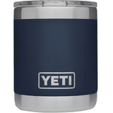 Rambler 10 oz Lowball with Standard Lid-Yeti-Navy-Uncle Dan's, Rock/Creek, and Gearhead Outfitters