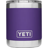 Rambler 10 oz Lowball with Standard Lid-Yeti-Peak Purple-Uncle Dan's, Rock/Creek, and Gearhead Outfitters