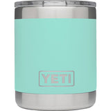 Rambler 10 oz Lowball with Standard Lid-Yeti-Seafoam-Uncle Dan's, Rock/Creek, and Gearhead Outfitters