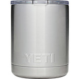 Rambler 10 oz Lowball with Standard Lid-Yeti-Stainless-Uncle Dan's, Rock/Creek, and Gearhead Outfitters