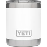 Rambler 10 oz Lowball with Standard Lid-Yeti-White-Uncle Dan's, Rock/Creek, and Gearhead Outfitters