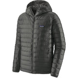 Men's Down Sweater Hoody-Patagonia-Forge Grey-S-Uncle Dan's, Rock/Creek, and Gearhead Outfitters