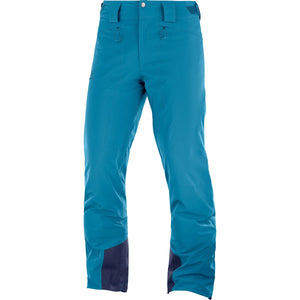Men's Icemania Pant-Salomon-Lyons Blue-S-Uncle Dan's, Rock/Creek, and Gearhead Outfitters