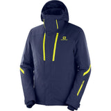 Men's Storm Season Jacket-Salomon-Night Sky/Night Sky-S-Uncle Dan's, Rock/Creek, and Gearhead Outfitters