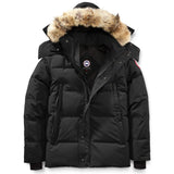 Men's Wyndham Parka-Canada Goose-Black-L-Uncle Dan's, Rock/Creek, and Gearhead Outfitters