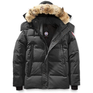 Men's Wyndham Parka-Canada Goose-Graphite-L-Uncle Dan's, Rock/Creek, and Gearhead Outfitters